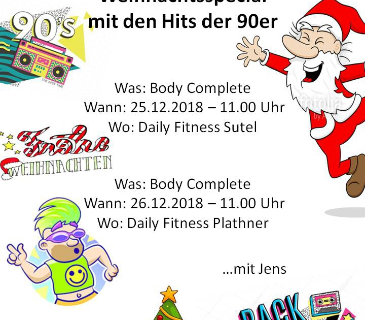 Body Complete Weihnachtsspecial