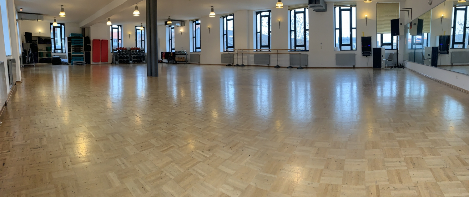 Daily Fitness Halle Saal Raum 1